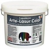 Скриншот к товару: Caparol Capadecor Arte Lasur Color (2.5 л) серая